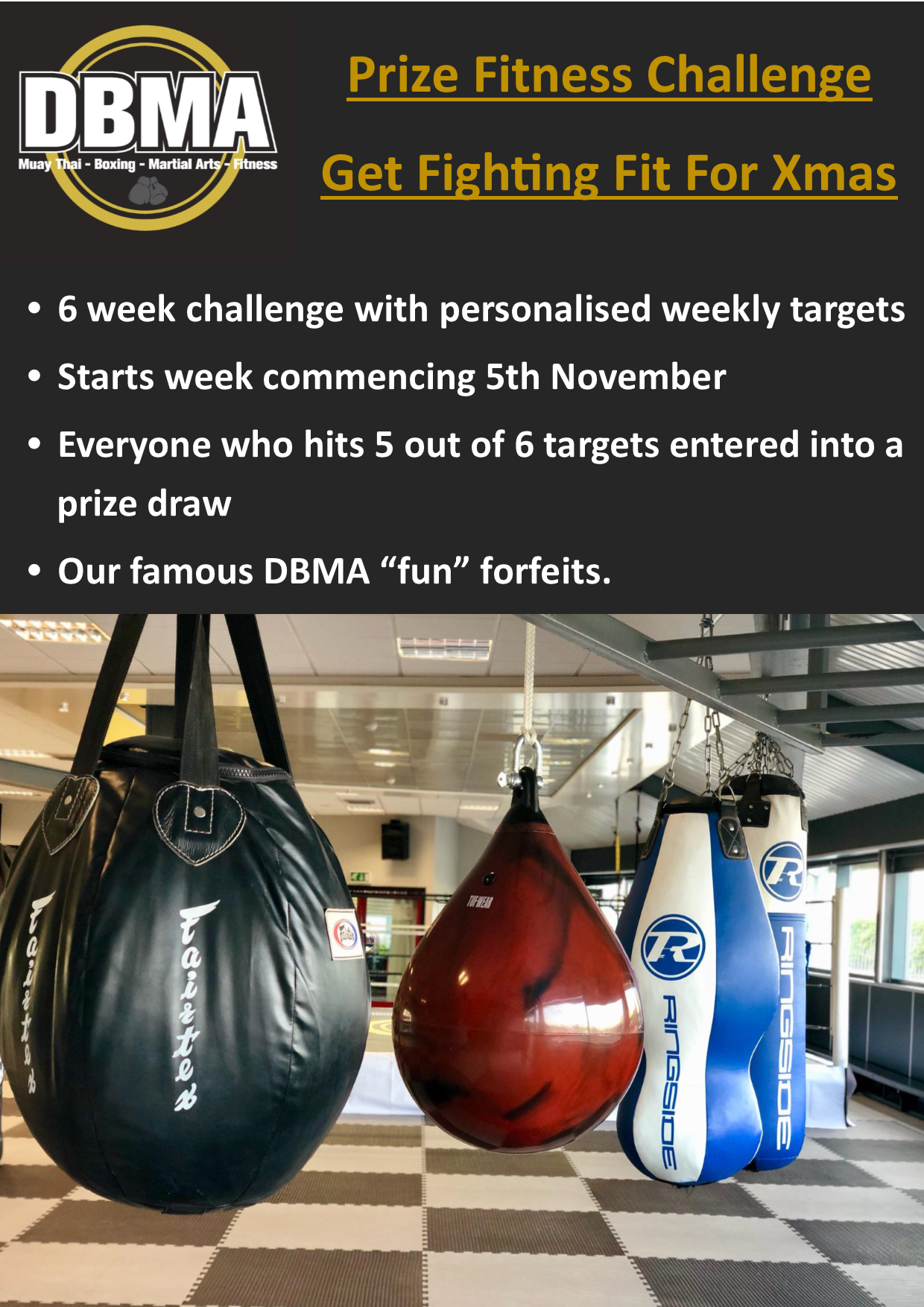 The 6-week DBMA Fitness Challenge is back!
