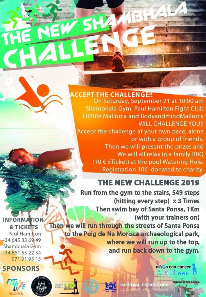 DBMA does the Shambhala Challenge, Majorca. 21st September