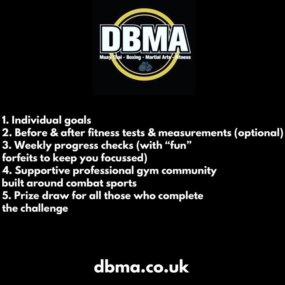 DBMA 6 Week Challenge. Starts 10th June.